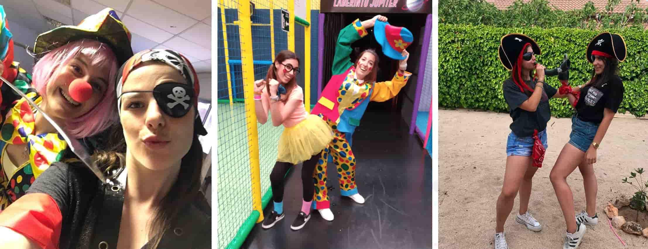 Animadores infantiles Guadalajara